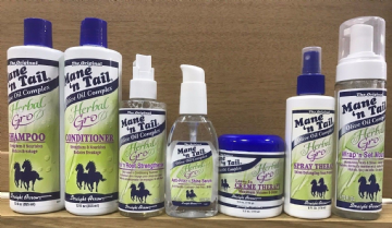 MANE AND TAIL HERBAL GRO HAIRCARE PRODUCT